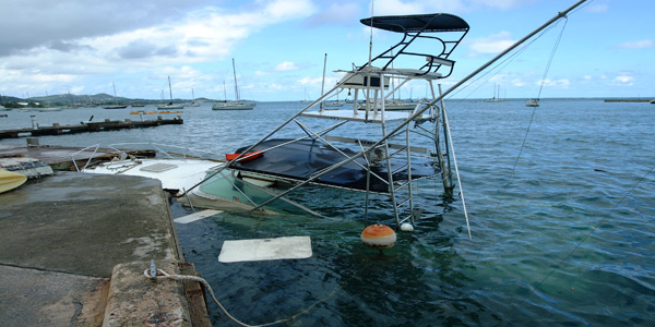 The Damage from Hurricane Omar was extensive as it passed over St Croix